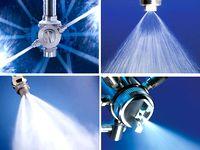 スプレーノズルの世界トップシェア企業!同社製のスプレーノズルは、洗浄・冷却・散布・加湿など、あらゆるモノづくりの現場で使用されています!