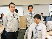 https://iishuusyoku.com/image/20代の若手から60代のベテランまで同社には揃います。写真は若手の先輩たちです!