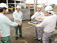 実際の作業は、協力会社の技術者・職人さんと協力しながら進めていきます。同社の仕事は、そのプロジェクトを纏める施工管理です。