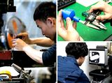 https://iishuusyoku.com/image/大阪本社に併設された自社工場は、2017年にISO認定工場に。フッ素樹脂からスーパーエンジニアリングプラスチックまで、あらゆるプラスチック・樹脂素材の加工に対応しています。