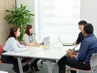 「人の役に立ち、人と喜びを分かちあう」という理念のもと活動する、温かくアットホームなIT企業です!