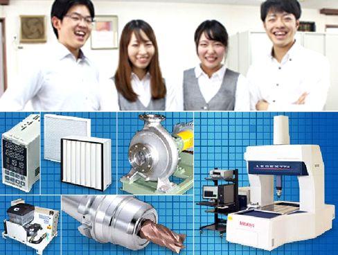 《創業約90年/工具や産業機器の老舗専門商社》取引先は日本を代表する大手上場企業が中心!日本のものづくり産業を支える存在として、長年の信頼と豊富な実績のある企業です。