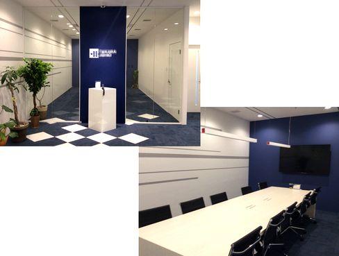 https://iishuusyoku.com/image/大阪オフィスの様子です。会議室では、モニタを通して東京支店との映像会議なども行っています。