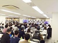 http://iishuusyoku.com/image/オークション開催日は、朝の9:00から夜の19:00までノンストップ!会場は熱気で溢れ、競りの声が全体に響き渡ります!