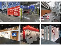 国際見本市や展示会に出展する企業ブースの企画・設計・施工から運営まで全ての業務をサポートしています。