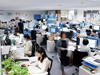 落ち着いて仕事に集中できる雰囲気です。女性が約3割。労務管理も徹底しており、安心して働ける環境です。