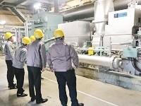 https://iishuusyoku.com/image/発電施設(蒸気タービン発電機 )。顧客のニーズに応じて、一品一様のオーダーメイドで設計・設置しています。