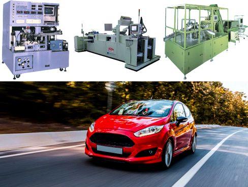 創業以来、自動車、印刷、電機業界などの製造現場の自動ラインに欠かせない「産業用自動機」ならびに「検査装置」の開発・製造を手がけ、日本のFA(ファクトリー・オートメーション)に貢献してきました。