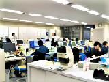 https://iishuusyoku.com/image/ワンフロア全体に各事業部が集約されたオフィスは機能的で、各部門との連携もバッチリです。