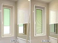 https://iishuusyoku.com/image/ブラインドと一体になった浴室用の窓など、戸建住宅にとってあると嬉しい機能を、次々と実現していきます。