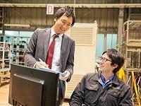 https://iishuusyoku.com/image/製品はオーダーメイド。開発と営業が密に仕事をすることで、様々なお客様のオーダーに応える事が出来るのです。