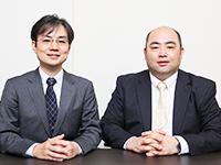 https://iishuusyoku.com/image/写真右:代表取締役社長(マイクロソフトの元マーケティング責任者) 左:取締役副社長(マイクロソフトのSharePoint元開発者)