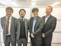 https://iishuusyoku.com/image/ベテランから若手まで共に楽しみながら開発業務を進めるメンバーたち。オンもオフもチームワーク抜群です◎